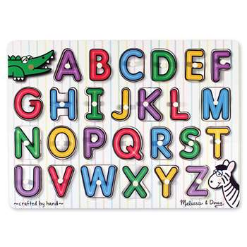 See-Inside Alphabet Peg Puzzle By Melissa & Doug