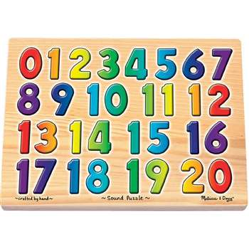Sound Puzzles Numbers By Melissa & Doug