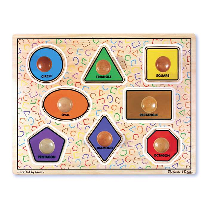 Large Shapes Puzzle By Melissa & Doug