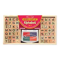 Alphabet Stamp Set By Melissa & Doug