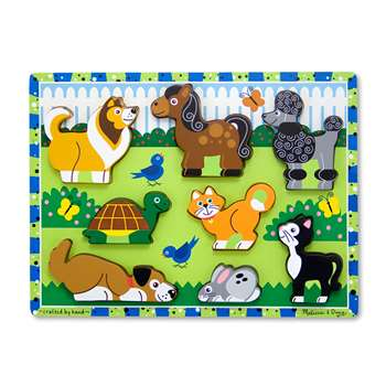 Pets Chunky Puzzle By Melissa & Doug