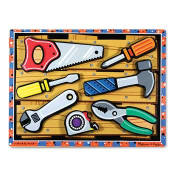Tools Chunky Puzzle By Melissa & Doug