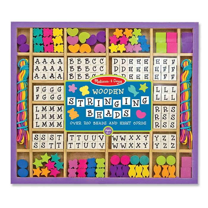 Wooden Stringing Beads By Melissa & Doug