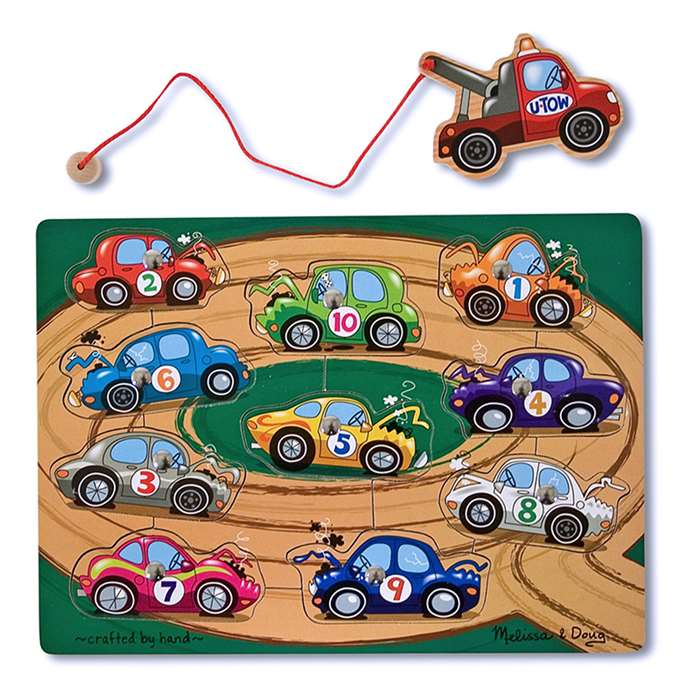 Tow Truck Magnetic Puzzle Game By Melissa & Doug