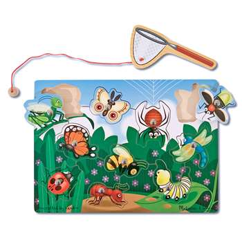 Bug-Catching Magnetic Puzzle Game By Melissa & Doug