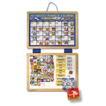 Magnetic Calendar By Melissa & Doug