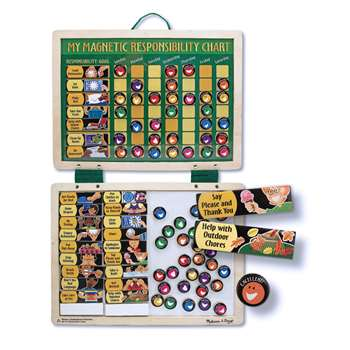 Magnetic Responsibility Chart By Melissa & Doug