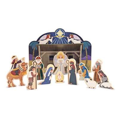 Nativity Set By Melissa & Doug