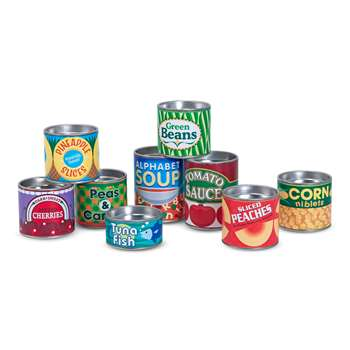 My Pantry Canned Food By Melissa & Doug