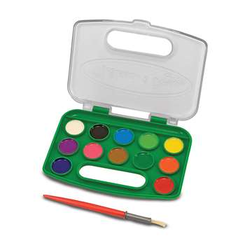 Take Along Watercolor Paint Set By Melissa & Doug