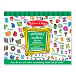 Sticker Collection Alphabet & Numbers By Melissa & Doug