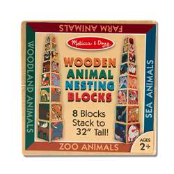 Wooden Animal Nesting Blocks By Melissa & Doug