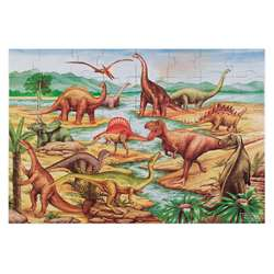 Floor Puzzle Dinosaurs By Melissa & Doug