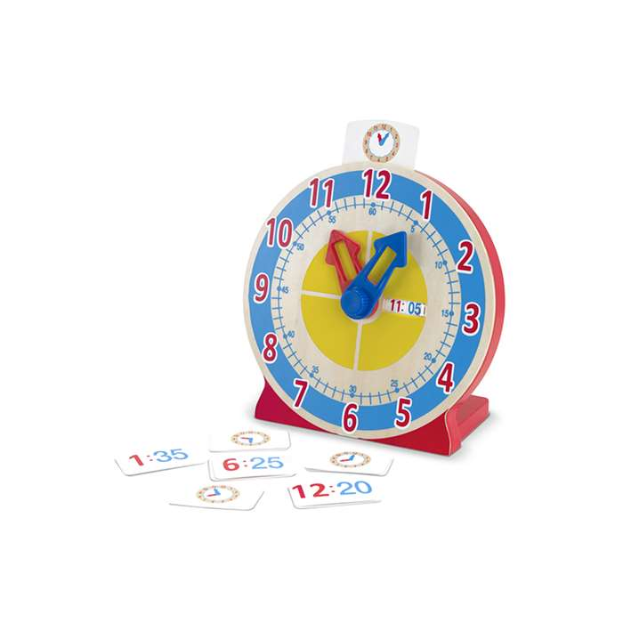Turn & Tell Clock By Melissa & Doug