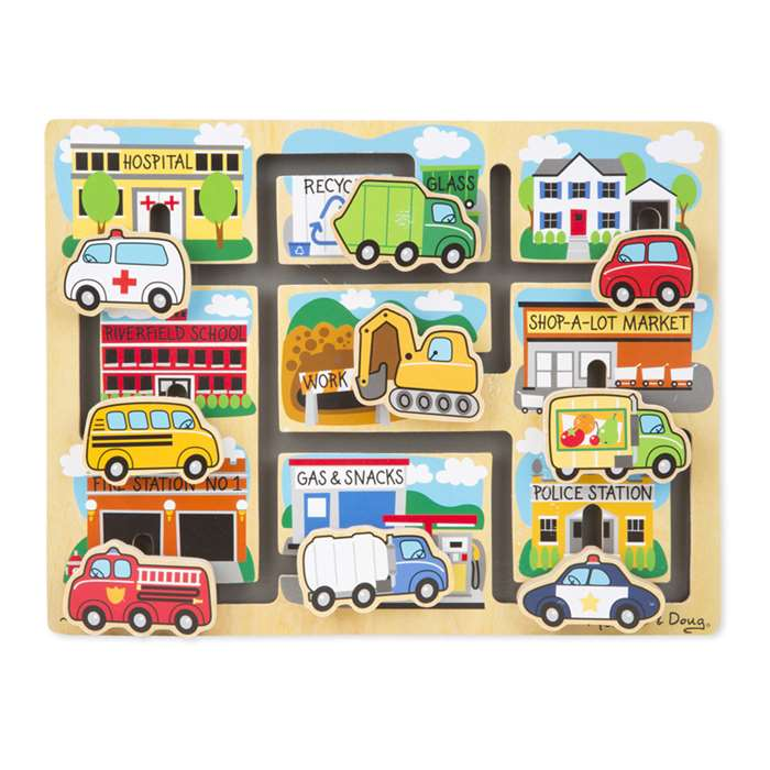 Vehicles Maze By Melissa & Doug