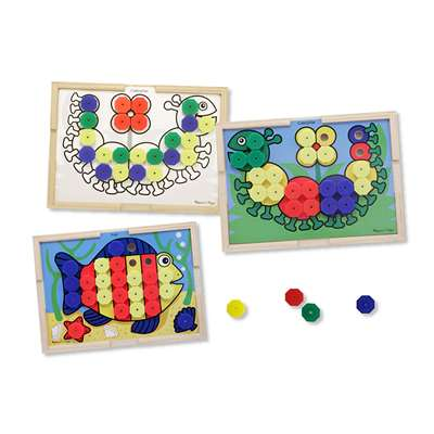 Sort And Snap Color Match By Melissa & Doug