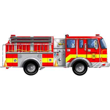 Floor Puzzle Giant Fire Truck By Melissa & Doug
