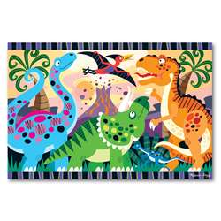 Dinosaur Dawn Floor Puzzle By Melissa & Doug