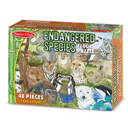Endangered Species Floor Puzzle 48 Pcs By Melissa & Doug