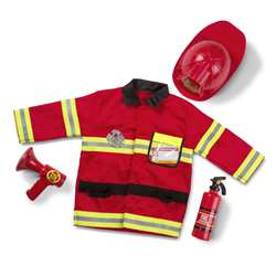 Role Play Fire Chief Costume Set By Melissa & Doug