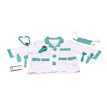 Role Play Doctor Costume Set By Melissa & Doug