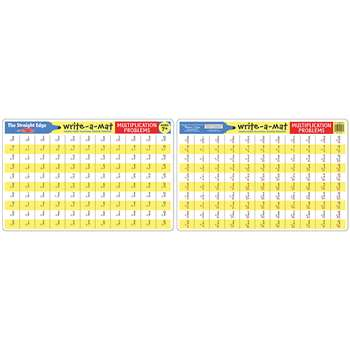 Multiplication Problems Write A Mat 6Pk By Melissa & Doug