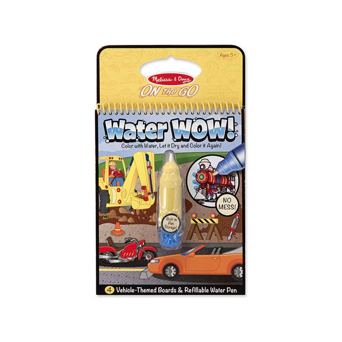 Water Wow - Vehicles By Melissa & Doug