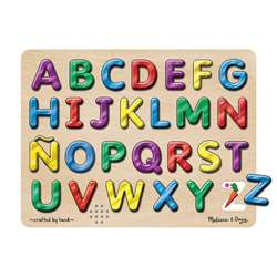 Spanish Alphabet Sound Puzzle 27Pcs By Melissa & Doug