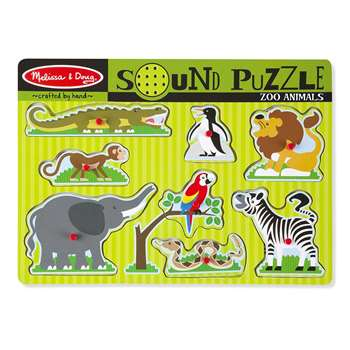 Zoo Animals Sound Puzzle By Melissa & Doug