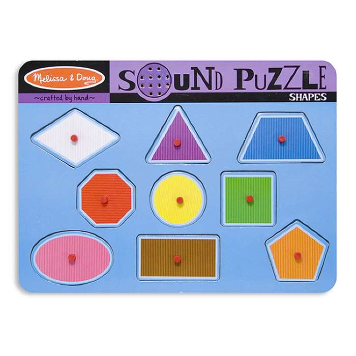 Shapes Sound Puzzle By Melissa & Doug