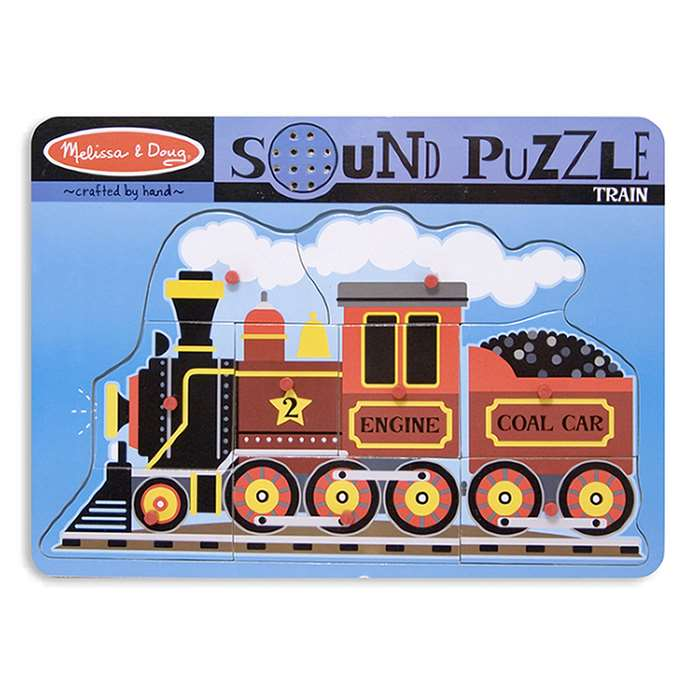 Train Sound Puzzle By Melissa & Doug