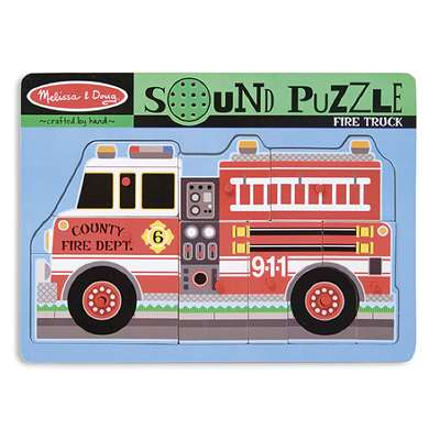 Fire Truck Sound Puzzle By Melissa & Doug