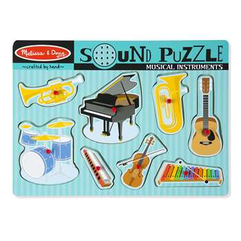 Musical Intruments Sound Puzzle By Melissa & Doug