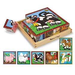 Farm Cube Puzzle By Melissa & Doug