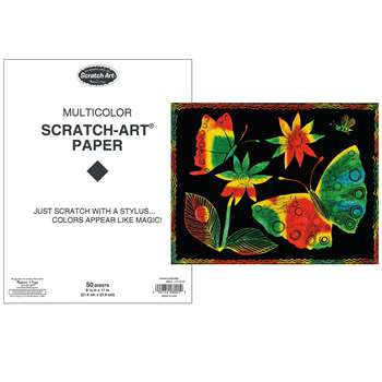 S Art Paper Multi 50 Sheets, LCI8001