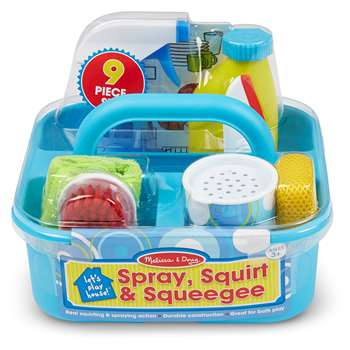 Lets Play House Spray Squirt & Squeegee Play Set, LCI8602