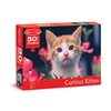 30 Pc Curious Kitten Cardboard Jigsaw, LCI8924