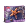 300 Pc Sun-Kissed Sea Star Cardboard Jigsaw, LCI8991
