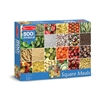 500 Pc Square Meals Cardboard Jigsaw, LCI9035