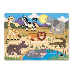 Safari Peg Puzzle, LCI9054
