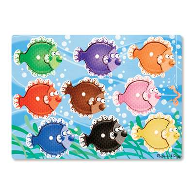 Colorful Fish Peg Puzzle, LCI9058