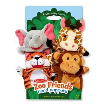 Zoo Friends Hand Puppets, LCI9081