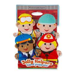 Jolly Jobs Hand Puppets, LCI9086