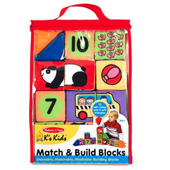 Match & Build Blocks By Melissa & Doug