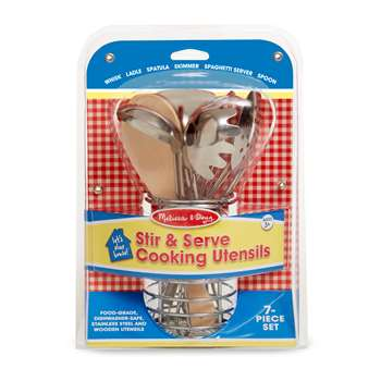 Lets Play House Stir & Serve Cooking Utensils, LCI9351