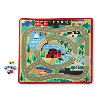Round The Town Road Rug & Car Set, LCI9400