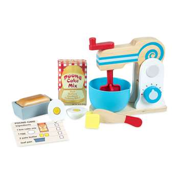 Wooden Make A Cake Mixer Set, LCI9840