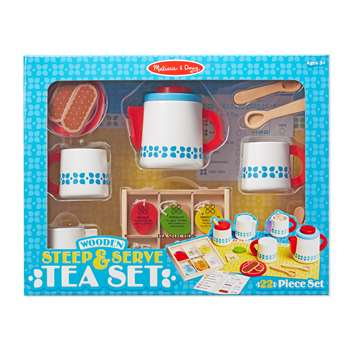 Wooden Steep & Serve Tea Set, LCI9843