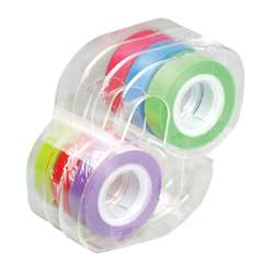 Removable Highlighter Tape 1 Roll Each Of Six Colors By Lee Products