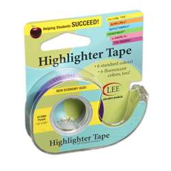 Removable Highlighter Tape Purple By Lee Products